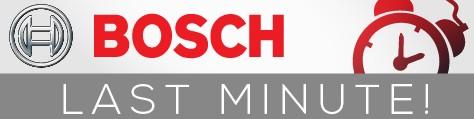 Bosch last minute akcija