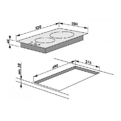 Ugradna ploča BHCS38120030