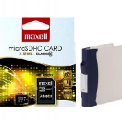 MAXELL MICRO SDHC 8GB X-SERIES+ADAPTER, CLASS 10
