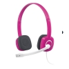 Stereo headset H150 cranberry