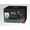 Wii konzola Mario kart pack black