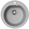 Okrugla granitna sudopera venera fi90 siva 113003