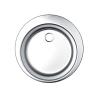 Okrugla inox sudopera ekscentrična fi480/60 123787