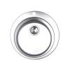 Okrugla inox sudopera ekscentrična fi480/90 030190