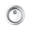 Okrugla inox sudopera centrična fi 480/90 049344