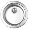Okrugla inox sudopera centrična fi 480/90 121348