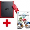 Wii Console Mini Red + Wii Mario Kart + Wii Inflatable Racing Kart