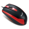 DX-100 Mouse, USB Red