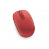 MICROSOFT Wireless Mobile Mouse 1850 Flame Red U7Z-00034