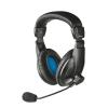 TRUST slušalice sa mikrofonom QUASAR (Crne) - 21661