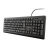 Trust tastatura Primo US,crna  23880